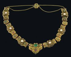 """A Biedermeier necklace 1840 laura_mz - Приглашаю полюбоваться в """"Ювелирную лавку"""" - 2."""