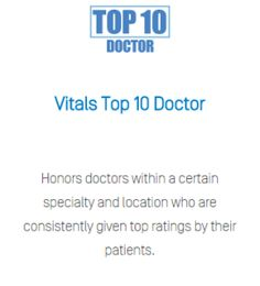 "Dr. Shahram Salemy Honored as a ""Top Plastic Surgeon"" by Vitals. Read more about this award, which is ranked by patients."