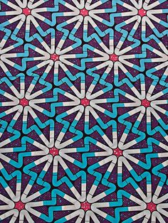 Wholesale African Clothing Fabric Super Deluxe Wax Purple Geometry swa6331