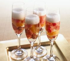 Watermelon Champagne Sangria Recipe. Divine! #recipe #watermelon #sangria
