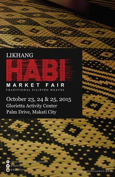 Likhang Habi Market Fair City O, Makati City, October 23, Archaeological Site, Activity Centers, Great Stories, Little People, World Heritage Sites, Art Music