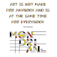 Font inspired by piet mondrian created by @tanoveron - Argentina |  featured by @thedailytype #thedailytype