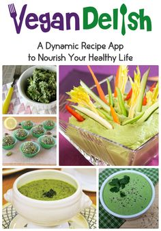 Green recipes for St. Patrick's Day from #Vegan Delish, the healthy cooking app for your iPhone or iPad. Download the app from iTunes!