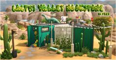 Cactus Valley Container HomeNookstone is now a small sized home aimed towards a single sim. This place is renovated to look like a decent home on the inside. • Type: Residential • Value: 62,941...