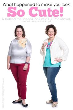 Makeover   before & after   dressing your truth   Carol Tuttle   Type 1   give yourself   beauty   hair   makeup   clothes   colors