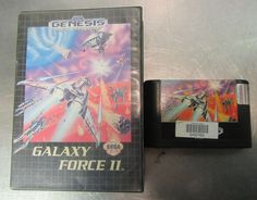 Galaxy Force II Sega Genesis Game Ex Rental Case and Cartridge Only #Sega