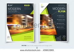 corporate business template for brochure report catalog magazine. layout with bright color and abstract city photo placeholder. leaflet poster flier or banner concept Template Flyer, Template Brochure, Abstract City, Layout, Corporate Business, Textured Background, Flyer Design, Modern Design, Royalty Free Stock Photos