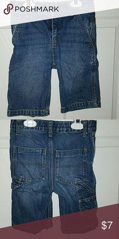 OSHKOSH Boys Denim Carpenter Shorts OSHKOSH Boys Denim Carpenter Shorts Size 8S Osh Kosh Bottoms Shorts