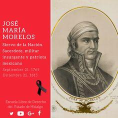 #UnDíaComoHoy pero de 1815, murió en #Ecatepec, el #SiervoDeLaNación José María Morelos #HistoriaDeMéxico #ELDEH #ConoceTuHistoria