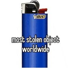 Most stolen object worldwide Funny Weed Memes, Weed Humor, Funny Jokes, Stupid Memes, Funny Tweets, Weed Pictures, Funny Pictures, Weed Pics, Humor