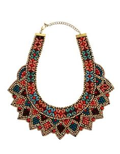 beaded statement necklaces > shiny baubles