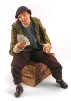 Hobo #1 - Colvin Dolls - Gallery - The Greenleaf Miniature Community