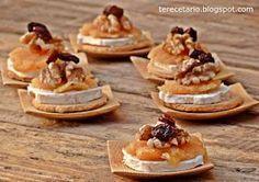 Recetas fáciles de aperitivos para buffet Graduation Party Desserts, Mezze, Tasty, Yummy Food, Snacks Für Party, Canapes, Food Inspiration, Love Food, Catering