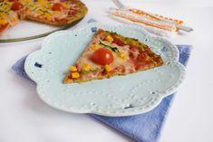 Pizza cu crusta din dovlecei Avocado Toast, Pizza, Breakfast, Cake, Desserts, Food, Morning Coffee, Tailgate Desserts, Deserts