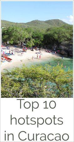 Top 10 hotspots in Curacao #curacao #beach #hotspots