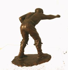 Cold by Mitchell House titled: 'Pugilist (Small Bronze Bare Fist Boxer Fighter statue)'. Bronze Sculpture, Sculpture Art, Sculptures, Art Of Man, Male Man, Boxing, Tabletop, Statues, Victorian