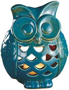 Biedermann & Sons Stoneware Owl Tealight Candle Holder Biedermann & Sons http://www.amazon.com/dp/B00EU7JBCW/ref=cm_sw_r_pi_dp_1dHzvb0M2XY3H