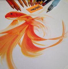 New York-based illustrator Karla Mialynne creates hyper realistic artworks that make you have internal debates whether you're looking at a photo or a painting. Her subjects usually involve different animals like colourful birds, a goldfish, a mouse, and a husky wearing a Native American headdress. She uses coloured markers, watercolour pencils, and acrylic paint to […]