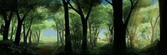 ArtStation - Forest, Alexey Rubakin