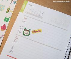 La #AgendaVirus este año está llenita de felicidad   Consigue ma tuya en http://ift.tt/1n71PmC  #virusdlafelicidad #agenda #agendaanual #agenda2017 #pegatinas #stickers #pegatina #smile