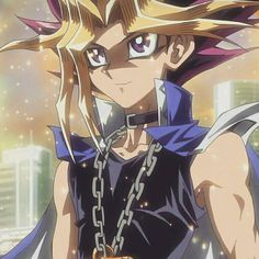 Pharaoh Atem (Yami Yugi) from Yu-Gi-Oh! Duel Monsters. Such a hottie!