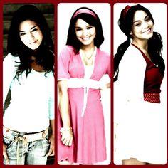 Gabriella Montez through the years