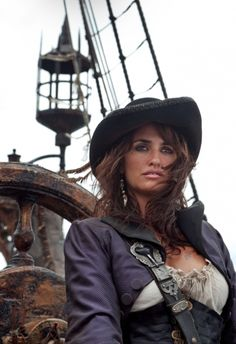 Penelope Cruz as Angelica Teach in Pirates of the Caribbean: Stranger Tides