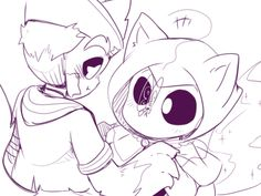 Tiny Paws vs Huge Paws P.3 -GOTH IS TOO CUTE!!!! >/////////////<-