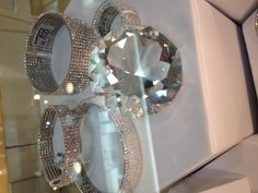 Love these CZ bangles that are adjustable-- get them at jnljewelry.com