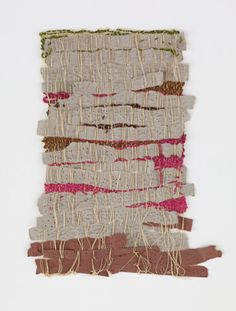 Weaved Works by Sheila Hicks, Louise Bourgeois, and Others at the Drawing Center – Vogue - Sheila Hicks,  Punched Notations,  2012