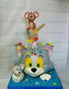 Tom and Jerry cake - Cake by Milene Habib