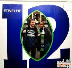 Twelfie -  Verizon Experience at Touchdown City, CenturyLink Field #VZWBuzz #MoreSeattle ad Seattle