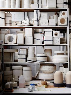 Details from the Collingwood studio of Porcelain Bear. Photo – Sean Fennessy for The Design Files.