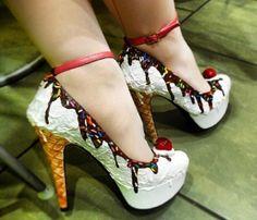 Shoe Bakery ... Cute for Lolita's or anyone who wants a kawaii look.