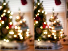 It's almost Christmas! Can you believe it?! Seeing as Christmas is so close  and many of you might be snapping lots of photos of your tree or in front  of your tree I thought it might be helpful to provide a few tips on  shooting dreamy Christmas lights.  SHOOT WITH A LOW F-STOP NUMBER  Or a wide aperture. A low f-stop number and a wide aperture are the same,  but I wanted to mention them both because it can actually seem a little  confusing. If you're ever reading an article that mentions a…