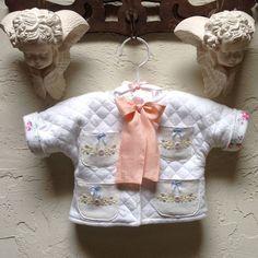 Infant Newborn Baby Jacket Coat by JackieSpicer on Etsy