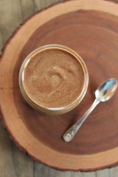 Dark Chocolate Swirl Coconut Almond Butter (aka Almond Joy Butter)