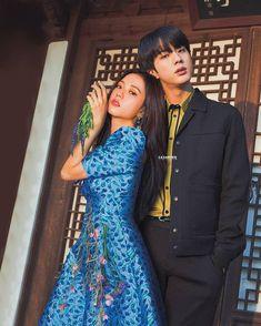 Kpop Couples, Cute Couples, Foto Bts, Chanbaek, Bts Girlfriends, Bts Face, Bts Dancing, Korean Couple, Blackpink And Bts