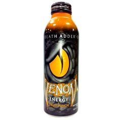 Venom Energy Death Adder Fruit Punch Drink