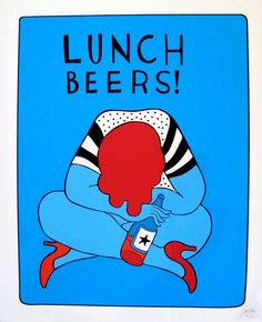 Lunch Beers 2, 2012 - by Parra