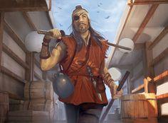 Bandit Ronin by jrbarker on DeviantArt Different Races, L5r, Naruto Oc, Game Concept Art, Fantasy Artwork, Fantasy World, Dungeons And Dragons, Samurai, Character Design