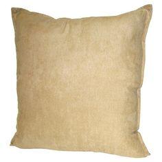 Hudson Street Faux Suede Throw Pillow & Reviews | Wayfair