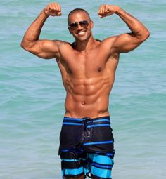 Shemar moore from criminal minds... oh my word...