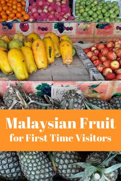 Malaysian fruit comes in many shapes and sizes, but also a variety of locals names. Here is a fruit guide for first time visitors to Malaysia.