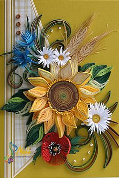 Neli Quilling Art: Sunflower