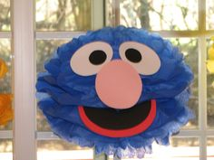Hey, I found this really awesome Etsy listing at http://www.etsy.com/listing/95684455/blue-monster-tissue-paper-pompom-kit