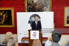 Prince William, Duke of Cambridge speaks at a reception on World Mental Health Day to celebrate the impact of the Heads Together Charity at St James's Palace on October 10, 2017 in London, England. (Photo by John Stillwell - WPA Pool/Gety Images)