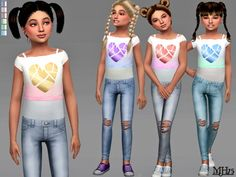 Sims Addictions: Heart Outfit CF • Sims 4 Downloads