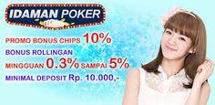Idaman Poker, poker, agen poker, judi poker, judi poker online, Kiukiu, qq, ceme, bandar, domino, gaple
