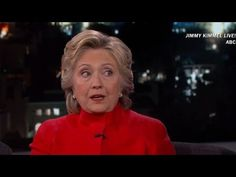 "The FBI has uncovered almost more deleted emails from Hillary Clinton's private server, but she joked with Jimmy Kimmel that her emails are ""boring. Private Server, January 1, Political News, Scandal, Laughing, Presidents, Trail, Tech, Big"